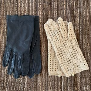 Two Pairs of Vintage Gloves